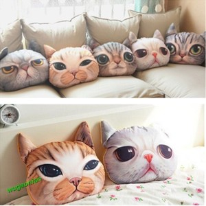 3D Katzenkissen