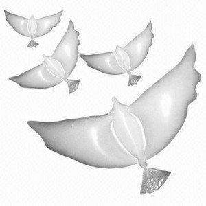 1 X Hochzeitstaube Luftballon Für 096 Euro Inklusive Versand