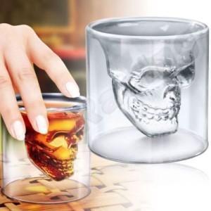 Totenkopf Schnapsglas
