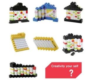 Lego Design Kalender