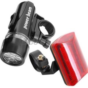 Multifunktionale LED Fahrradlampe
