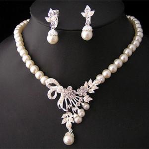 Perlen Schmuck Set