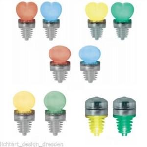 Korken Flaschenverschluss LED