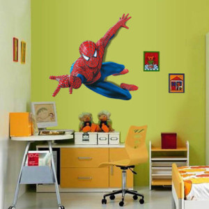 Spiderman Wandsticker