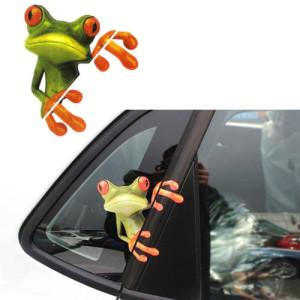 3D Froschsticker