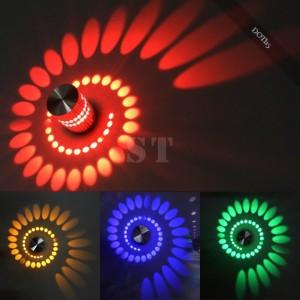 Spiralen Lampe