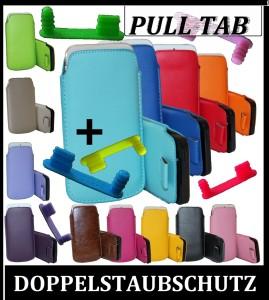 Pull tab Tasche