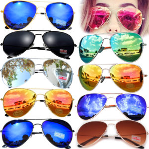 Sonnen-Pilotenbrille