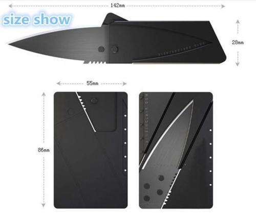 Kreditkarten Messer