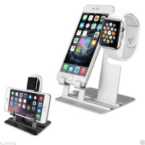 Alu Stand iwatch iphone