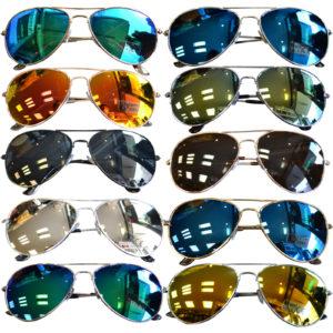 Verspiegelte Piotenbrille