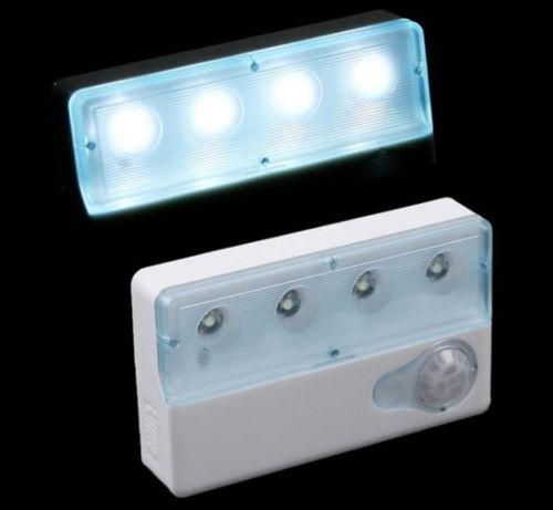 PIR 4 LEDs Licht Sensor