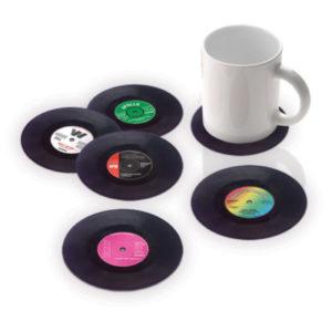 vinyl-untersetzer