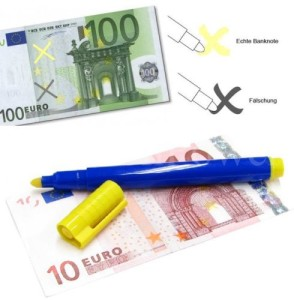 Falschgeld Prüfstift