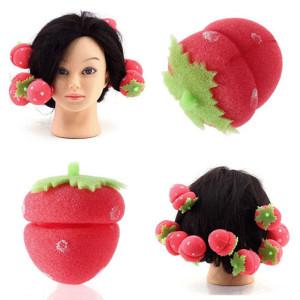 Erdbeere Lockenwickler