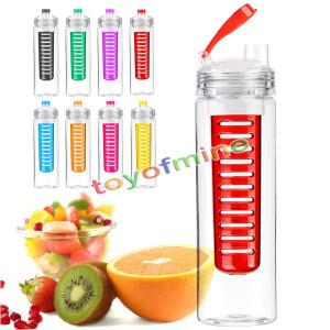 Trinkflasche mit Frucht