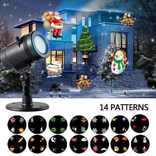 Led Laser Projektor Lichteffekt Weihnachten Garten Decor Für 999