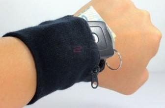Multifunktions-Armband Gamasche mit Reißverschluss für 1,08€ inkl. Versand