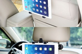 Universal Auto Rücksitz Kopfstützen-Halterung für Tablet-Größe 7″- 13″ für 4,45€ inkl. Versand