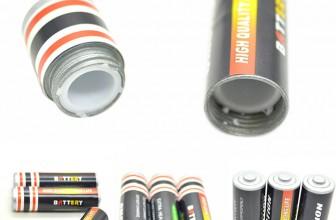 Batterie Attrappe – Geld Versteck für 1,49€ inkl. Versand