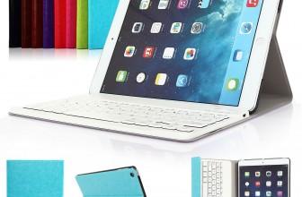 Bluetooth iPad Air 2 Tastaturhülle für 17,98€ inkl. Versand