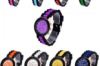 Silikon Geneva Unisex Armbanduhr für 1,82€ inkl. Versand