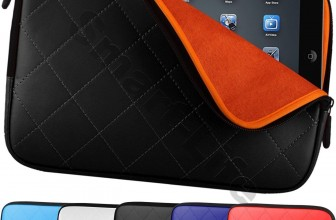 Gepolstertes Reißverschluss Tablet/Netbook Etui ab 6,79€ inkl. Versand