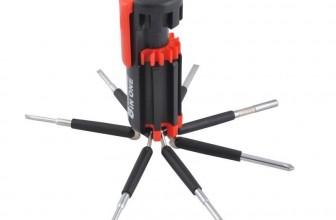 8in1 LED Schraubendreher Taschenlampe Multitool Werkzeug für 3,90€ inkl. Versand