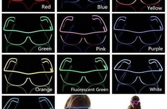 LED Glow Partybrille/Leuchtbrille für 3,68€ inkl. Versand