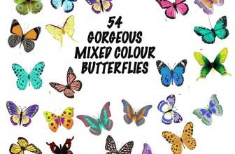 """54x Essbare Tortendekoration """"Schmetterlinge"""" für 4,14€ inkl. Versand"""