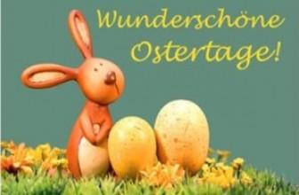 Das Team wünscht Euch allen ein frohes Osterfest!