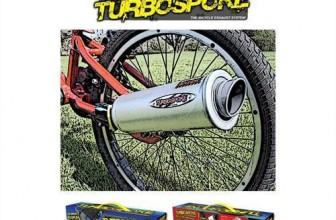 Turbospoke – Fahrrad Auspuff Komplettset für 18,79€ inkl. Versand