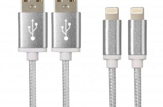 2x iGard iPhone6S/6 Plus/SE/5S USB Premium Nylon Datenladekabel für 6,90€ inkl. Versand